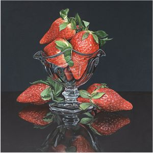 A Bowl of Strawberries