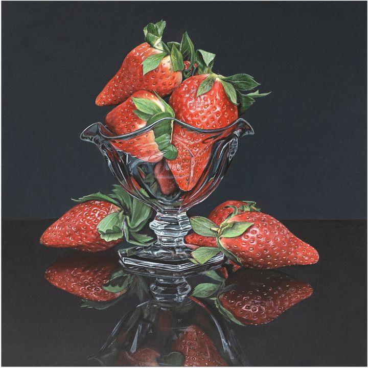 A Bowl of Strawberries - Madeline Parker Art