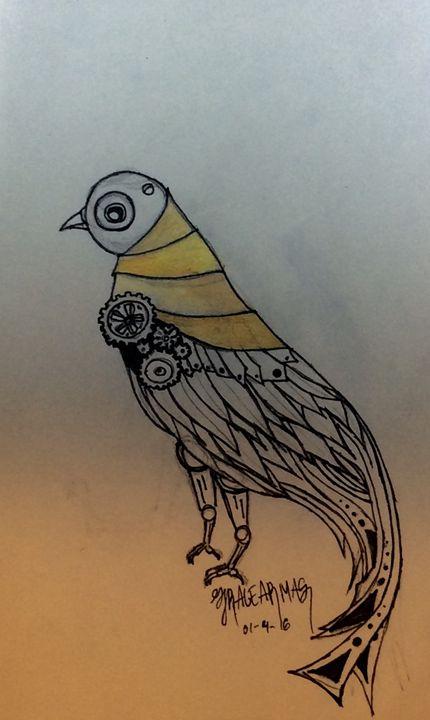 Steam punk dove - Grace Armas