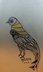 Steam punk dove
