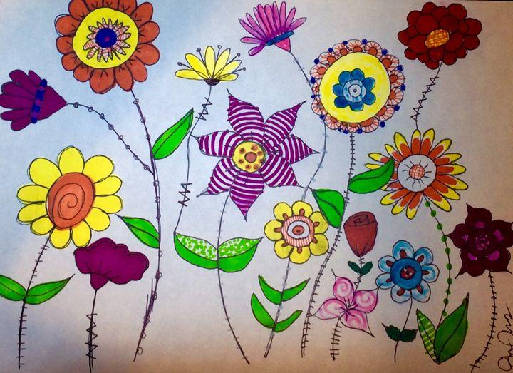 Flower in the summer - Grace Armas