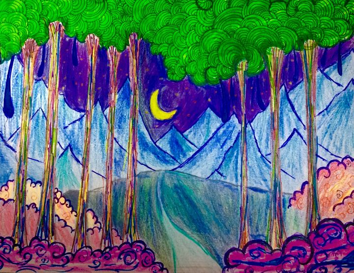 Walk through an enchanted forrest - Grace Armas