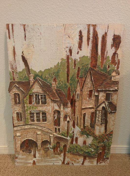 Outdoor Carving Artwork - Dakine