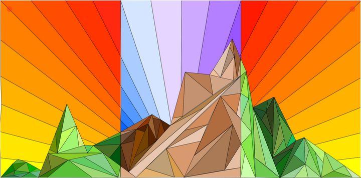 Geometric Mountains - NodeMode