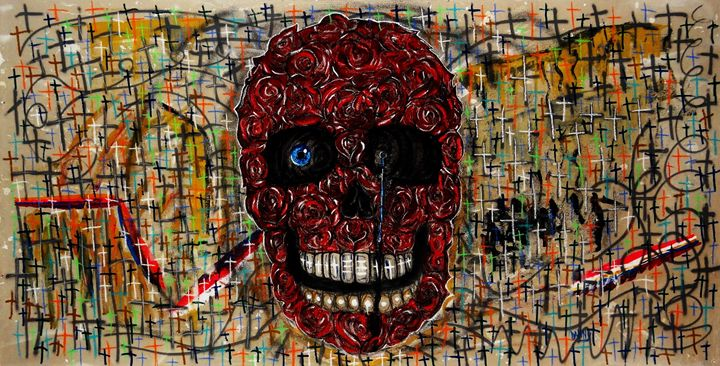 To The Death - Danny Ayala Mexican Artist