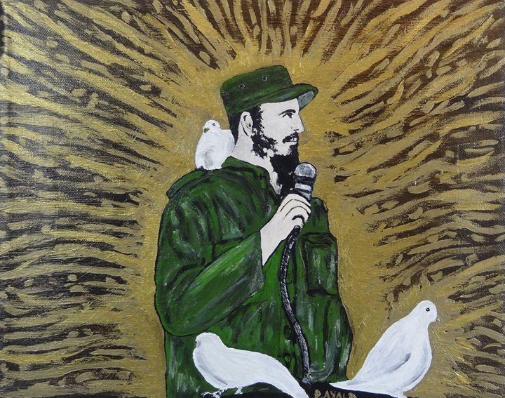 Fidel - Danny Ayala Mexican Artist