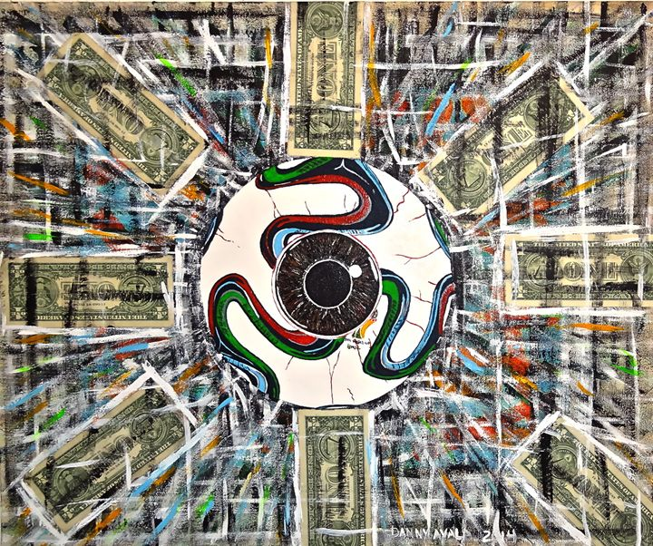 La Copa Mundial - Danny Ayala Mexican Artist