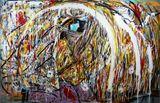 96 x48 Acrylic on Canvas.
