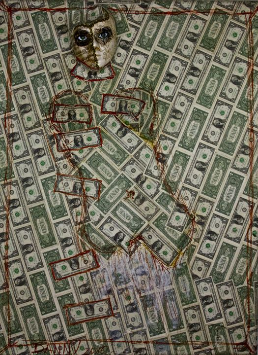 La Diosa del Dinero - Danny Ayala Mexican Artist