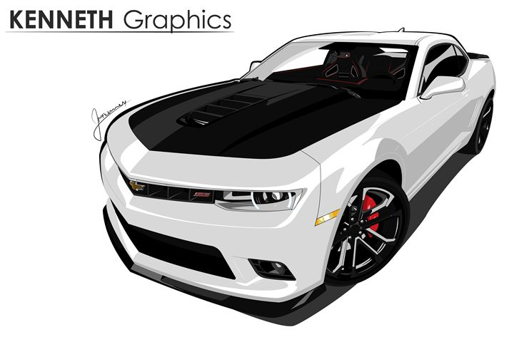 2014 Camaro SS 1LE - Kenneth Graphics
