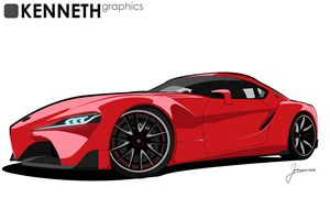 FT1 Red - Kenneth Graphics