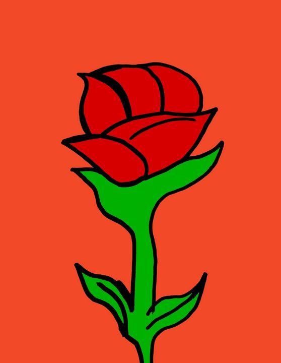 Red rose - Jelena Damnjanovic