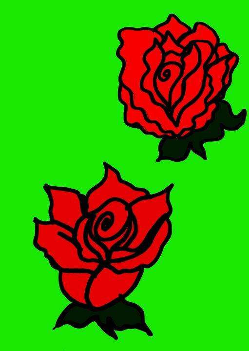 Red roses - Jelena Damnjanovic