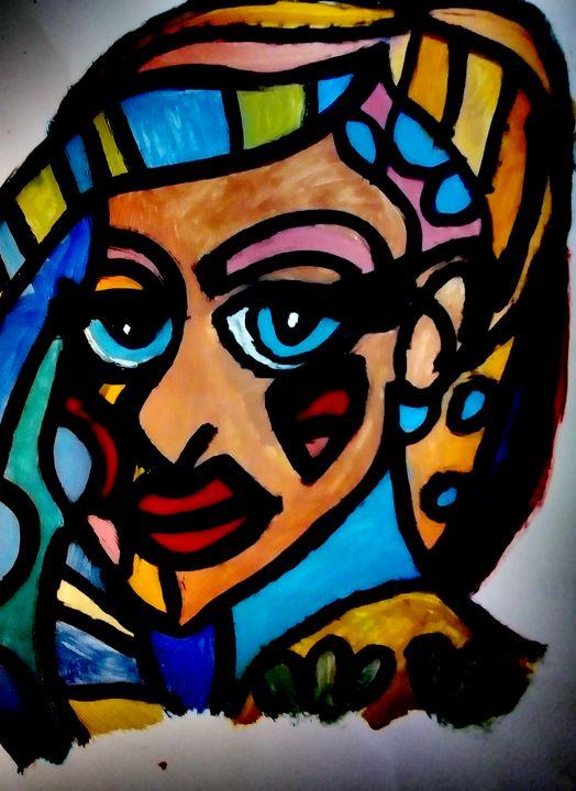 Fractal woman - Jelena Damnjanovic