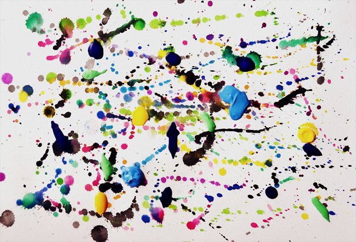 Paint splat - Kronen Designs