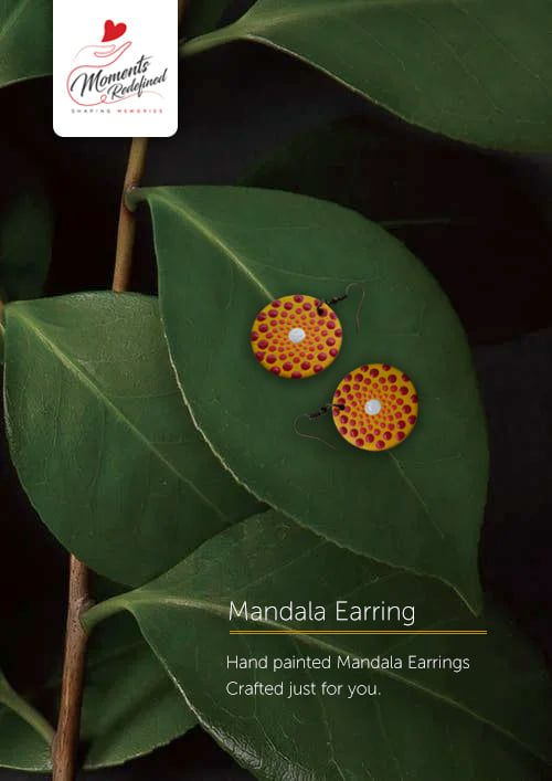 Sacred Geometry earrings - Moments Redefined by Shaily Agarwal