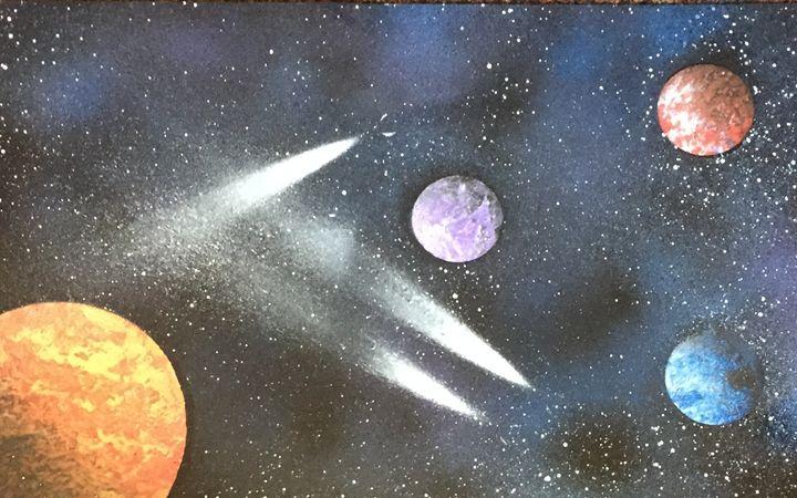 Meteor Shower - Colin Nichols