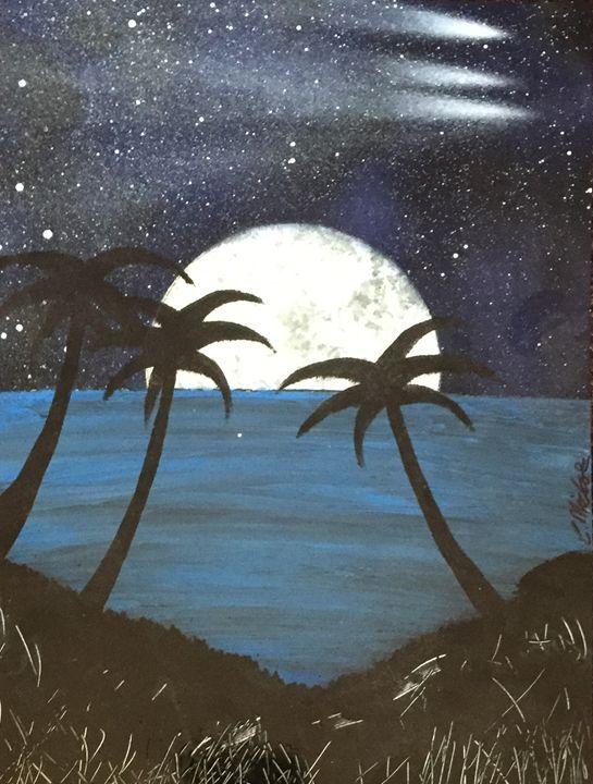 Midnight Beach - Colin Nichols