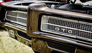 Black Pontiac GTO