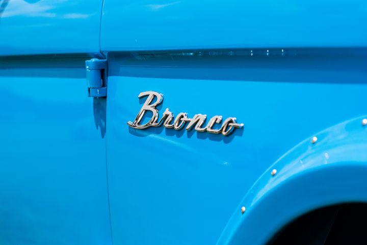 Blue Bronco Truck - MHP