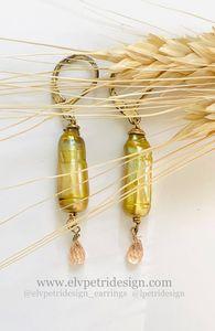 Yellow Pearls, CHAMP. CZ, GField. - L'Petri Design/Art