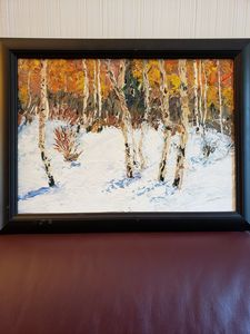 Palette Knife Aspens Grand Mesa