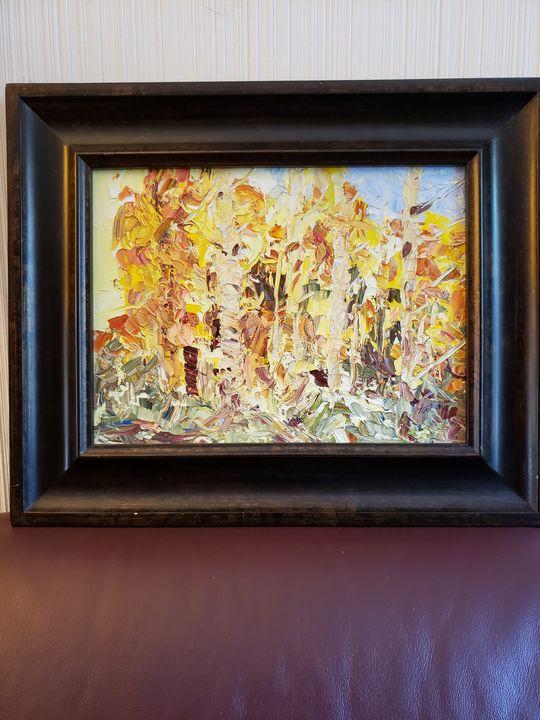 """""""Fall Fury"""", Grand Mesa Colorado - Wilda Fortune"""