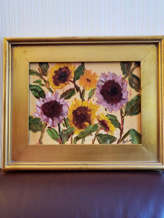 """Sunny Flower Daze"", 2018 - Wilda Fortune"