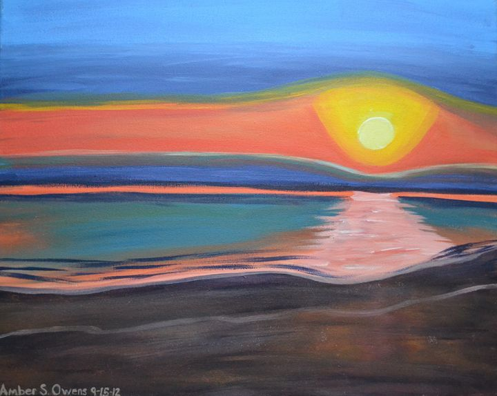 Colorfull Sunset - A.S.Owens