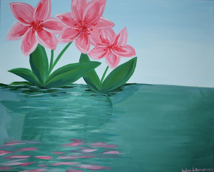 Water Flowers - A.S.Owens