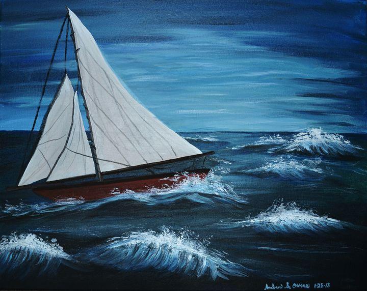 Sailboat Dream - A.S.Owens