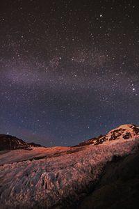 Star Lit Glacier