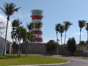Lighthouse in Freeport Grand Bahama