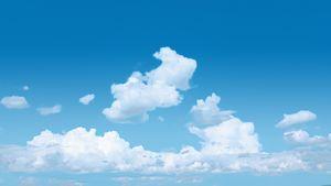 Cloudy Blue Sky
