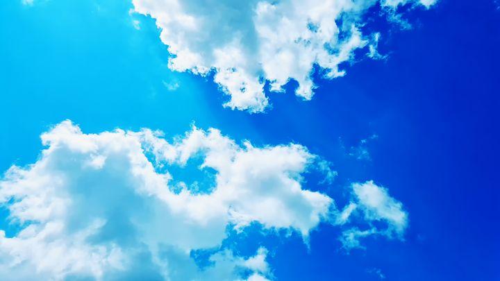 Cloudy Summer Sky - BlockedGravity