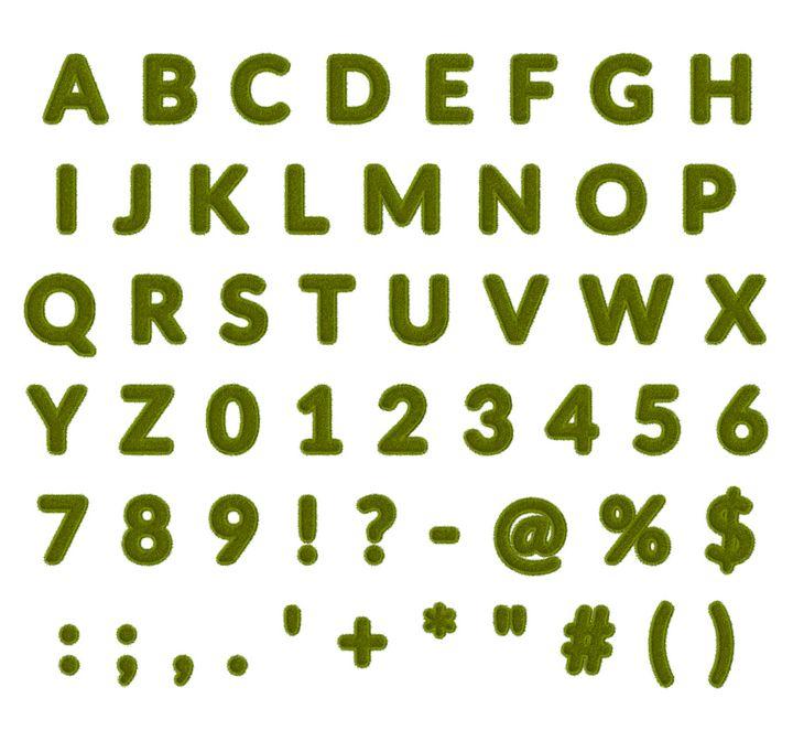 Green Grass Alphabet - 10500 x 9800 - BlockedGravity