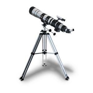 Detailed Telescope on Tripod