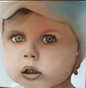 blue eyed child