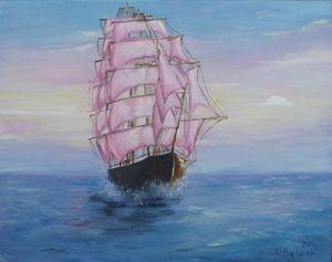 Mauve sails
