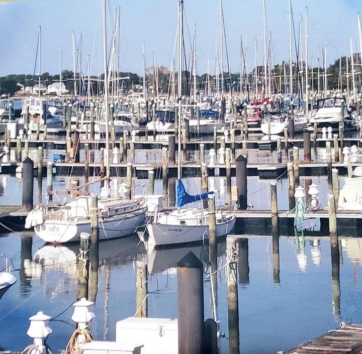 Old Point Comfort Marina - ArtByDonKats