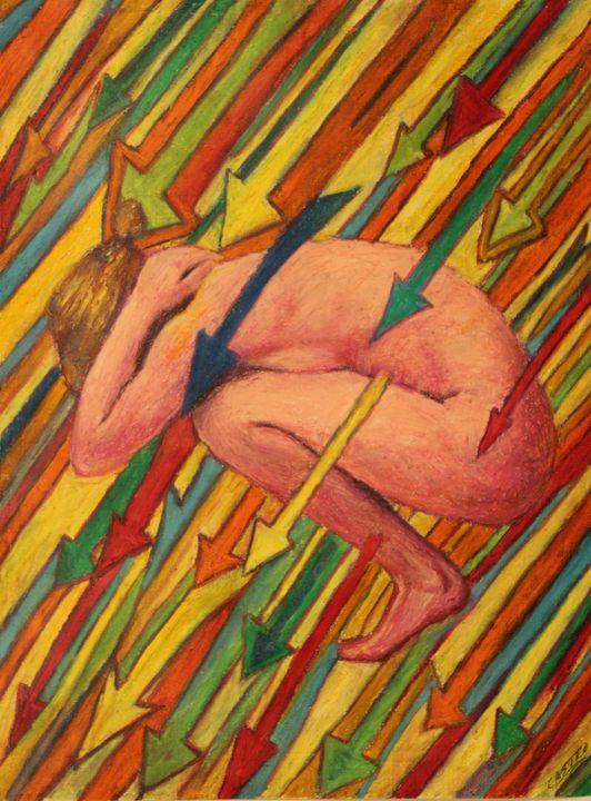 Fucken arrows. - Castro's Art