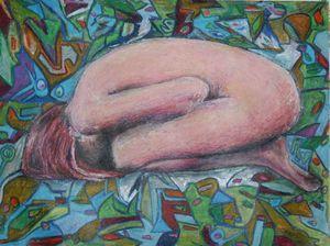 Ginger in turmoil. - Castro's Art