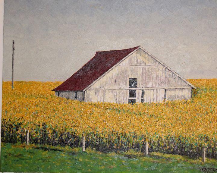 Iowa fields. - Castro's Art