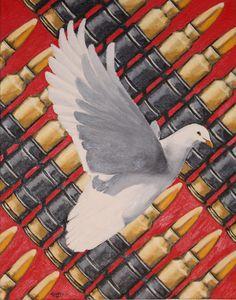 Peace escaping war.