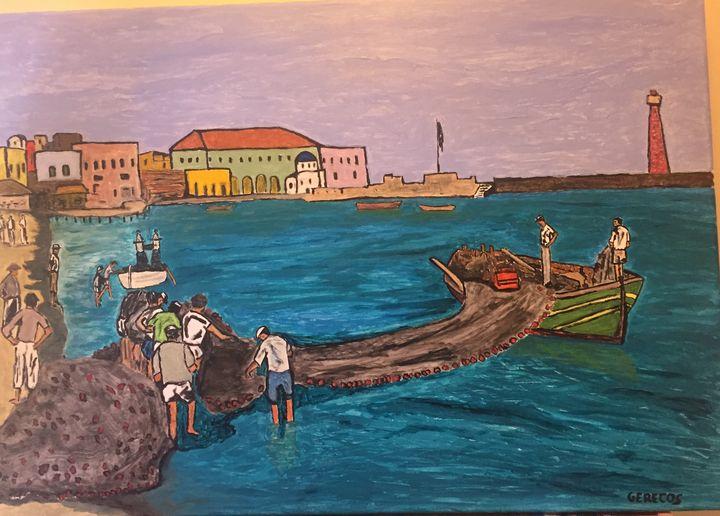 Fishermen - Spyros Gerecos