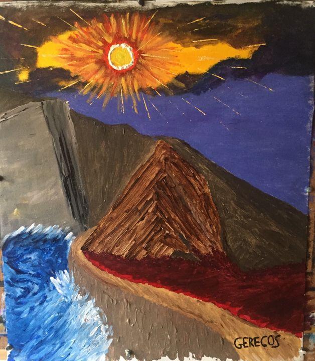 Apocalyptic cliff - Spyros Gerecos
