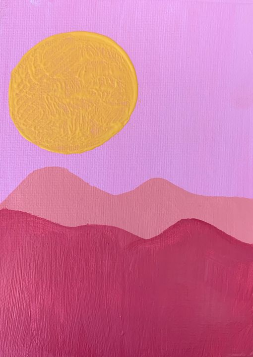 Himalayan Sunrise - Hannah
