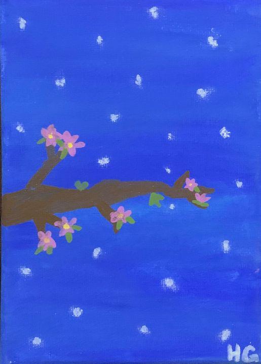 Starry night - Hannah