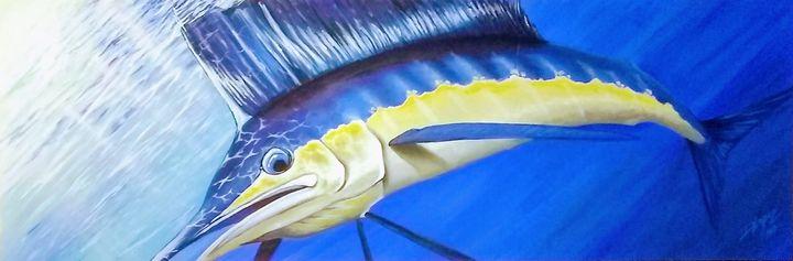 Sail Fish - Palm Creations Art