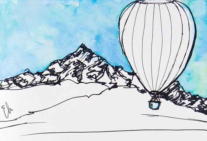 Glacier Get-Away - Emma's Art